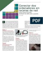 Manual Conectar 2 Pc s Sin Tarjeta de Red