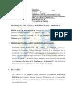 Demanda de Reposicion - Elder Nauca Rimarachin