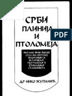 23850185 Srbi Plinija i Ptolomeja