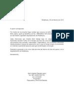 Carta de Servicios Estrada