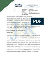 CONTESTACION DE DEMANDA - MUNICIPALIDAD DISTRITAL DE SAN PABLO (EXP. 01186-2014).docx