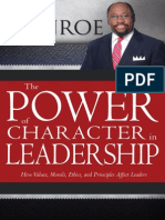 The Power of Character in Leadership by Myles Munroe