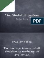 Skeleton Review Game
