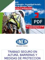 Trabajos en Alturas Proteccion Perimetral y Uso de Arnes. Eduardo Mora
