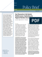 Gas Discoveries in the Eastern Mediterranean