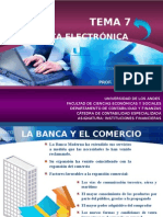Tema 7. La Banca Electronica (2)