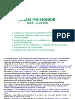 JURAM MAIMONIDE