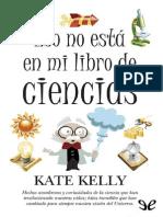 Antomia comparada - Eso No Esta en Mi Libro de Cien - Kate Kelly