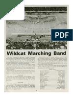 1979-80 University of Kentucky Wildcat Marching Band