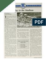 1989-90 University of Kentucky Wildcat Marching Band