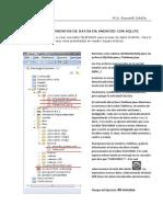ALMACENAMIENTOS DE DATOS EN ANDROID CON SQLITE