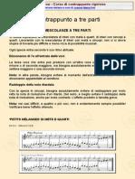 247295884 Corso Di Contrappunto Rigoroso Michel Baron MESCOLANZE a TRE PARTI PDF