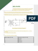 DC Power Supply Circuits