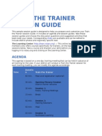 Train the Trainer Session Guide En