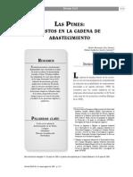 Anexo 3. Las Pymes Costos en La Cadena de Abastecimiento