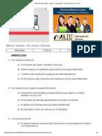 Univarsidad de Buenos Aires (UBA) - Medicina - Embriologia - Primer Examen Parcial - 2011