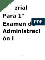 Material Para 1 Examen Administración 1