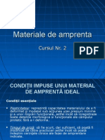 Cursul 2 - Materiale de Amprenta