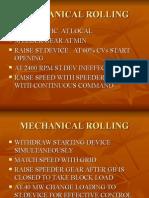 Mechanical Rolling