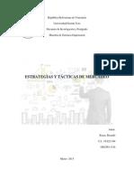 Estrategias y Tacticas de Mercadeo - Ricardo Rosas