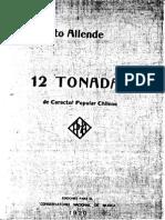 Allende Humberto 12Tonadas No.1