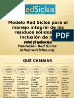 Modelo Red Siclos Para El Manejo Integral de Los Residuos Sólidos - Resumen