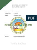 Partes de La Memoria de Ram