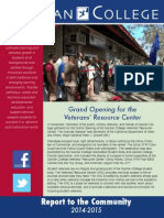 Gavilan College 2014-2015 Report to the Community