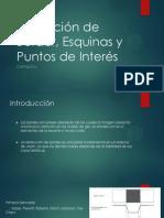 Extracción de Border, Esquinas y Puntos De(OpenGL)