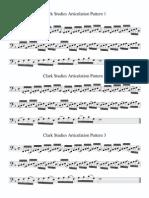 Clark Studies Patterns 1-3