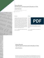 Apuntes Para Una Historia de La Filosofía en Chile