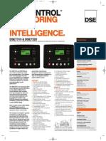 Catalogo Modulo de Control DSE 7310 - 7320