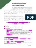 Practice Statutory Interpretation Question