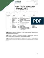 Caso03-Semana4Ecuacioncuadratica