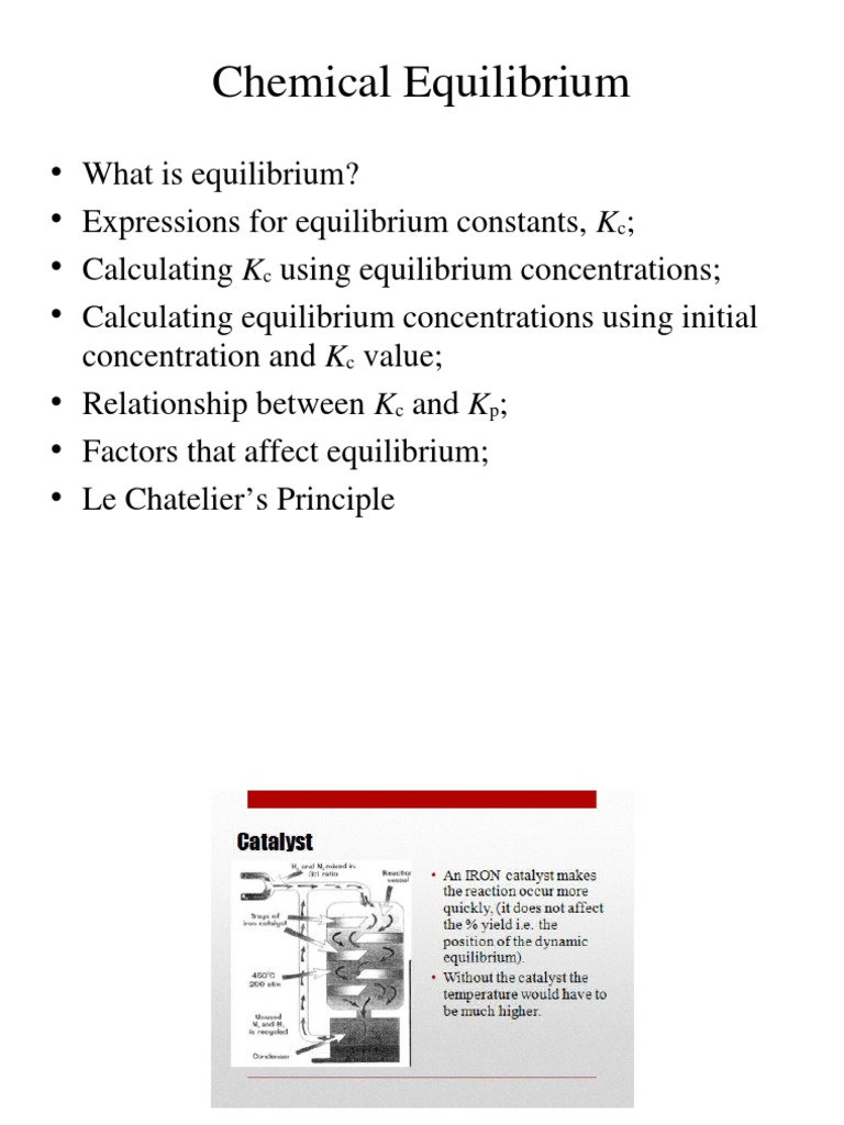 Chapter 13 - Chemical Equilibrium | Chemical Equilibrium