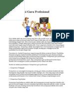 4 Kompetensi Guru Profesional