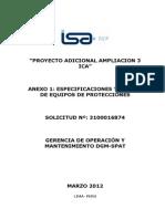 EETT Reles de Protecciones ICA