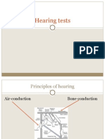 Hearing Tests lecture