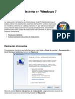 Restaurar El Sistema en Windows 7 3485 Nhtqqc