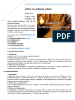 Institutogamaliel.com-ESCATOLOGIA Doutrina Das Últimas Coisas (1)