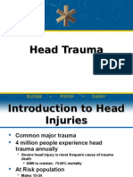Head Injurires presentation