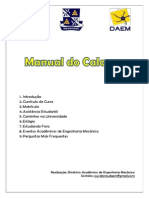 Manual Do Calouro 2014.2