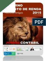 Caderno Imposto de Renda 2015 Jornal Cont Bil