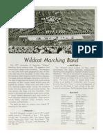 1977-78 University of Kentucky Wildcat Marching Band