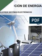 Distribución de energia en CCTV y otros sistemas electrónicos