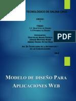 Modelo de Diseño para Aplicaciones Web - Equipo 2 - Unidad I - Tema 1.3-1.4