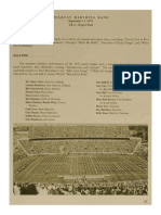 1976-77 University of Kentucky Wildcat Marching Band