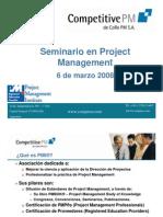 Seminario en Project Management Parte I