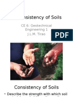 6 Consistency of Soils