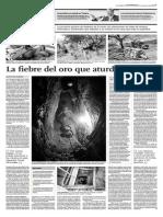 La fiebre del oro que aturde Ayabaca